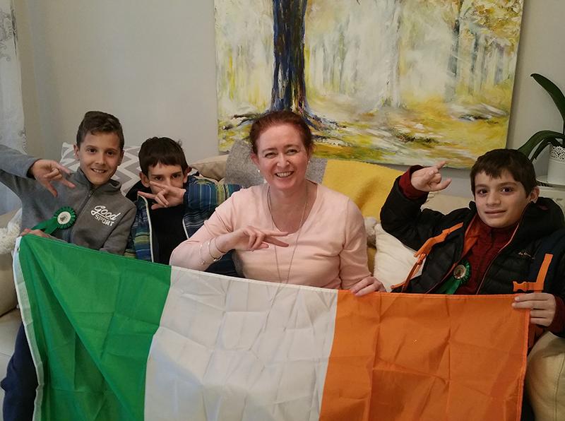 Imágenes del año y trimestre escolar en Irlanda