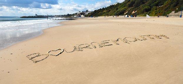 La playa de Bournemouth