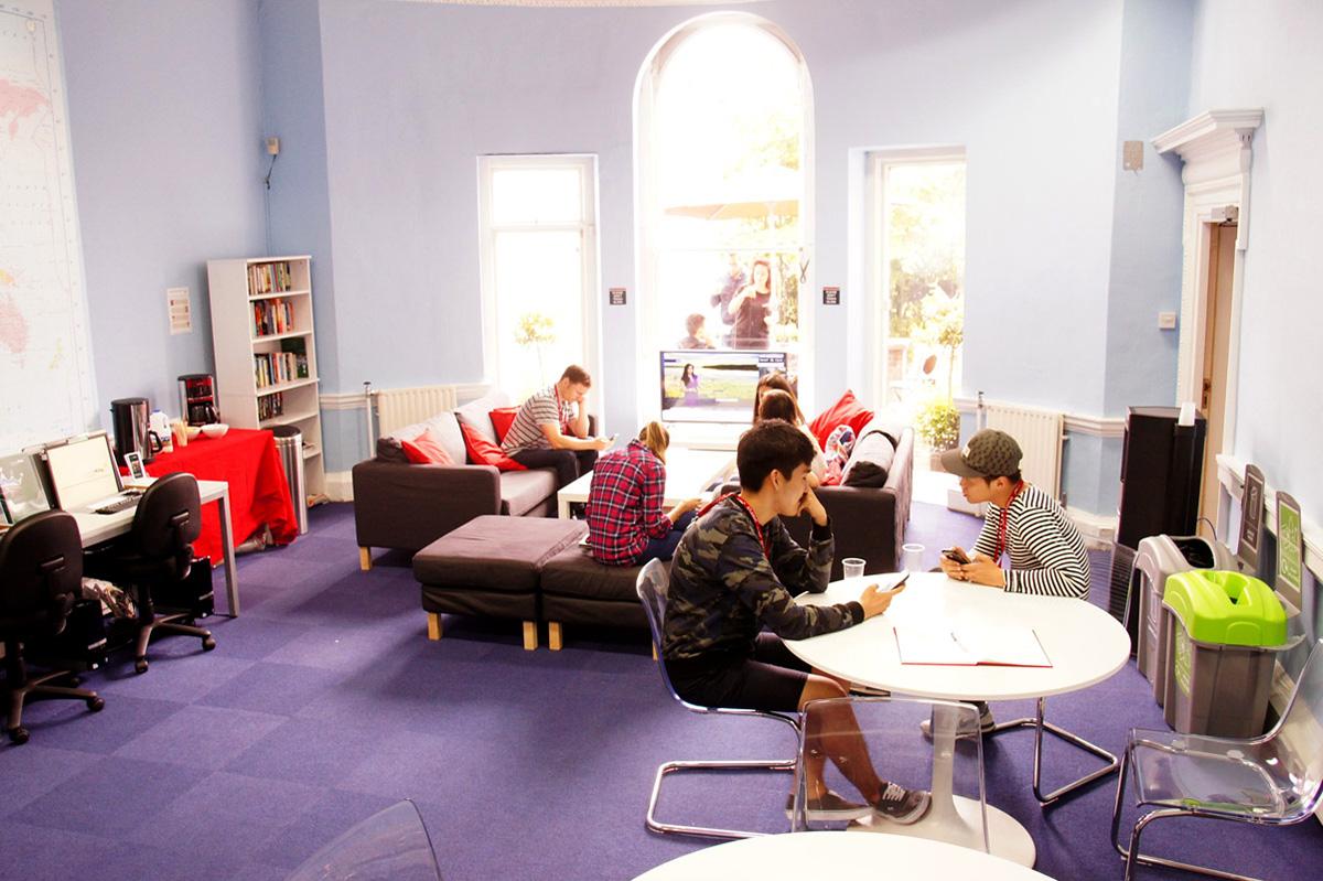 Tiempo de descanso en el curso de inglés en Dublín, Irlanda