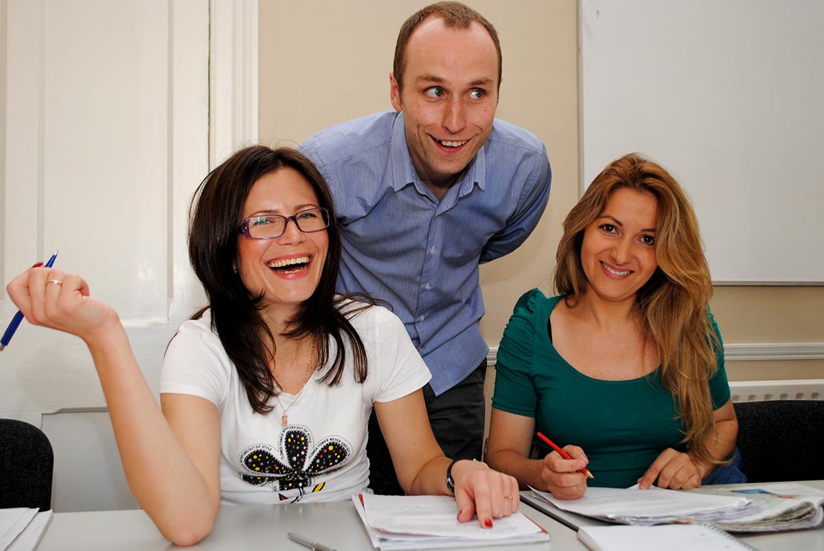 Aprende inglés en el curso en Dublín, Irlanda