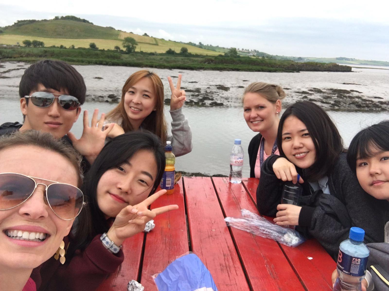 Estudia con amigos en Cork