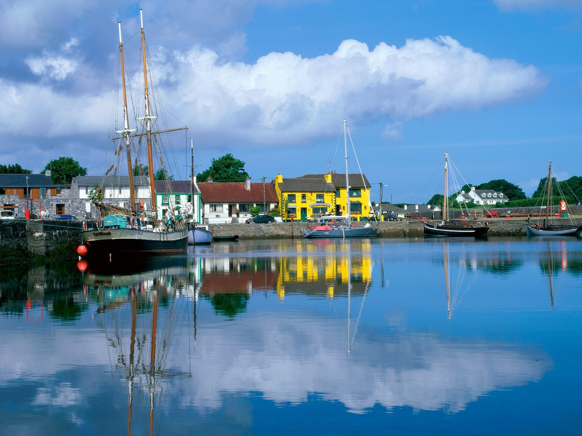 La bonita Bahía de Galway