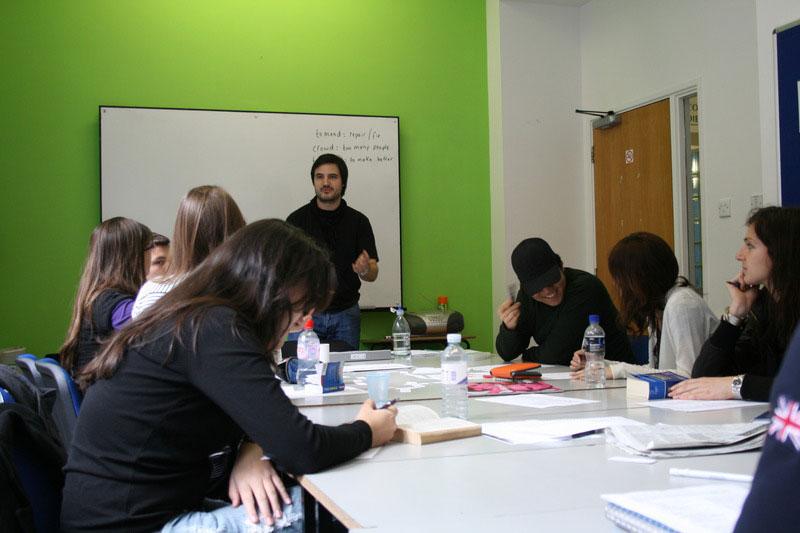 Clases de inglés en Londres centro