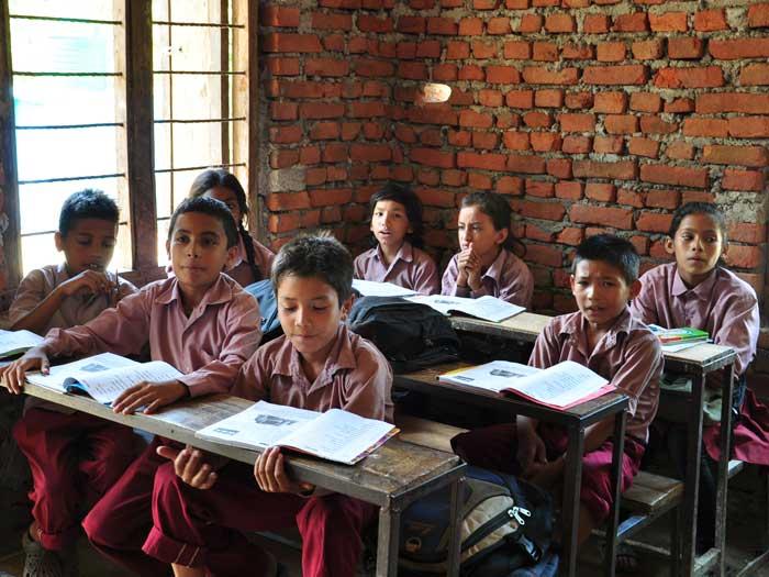 clases de inglés en Nepal