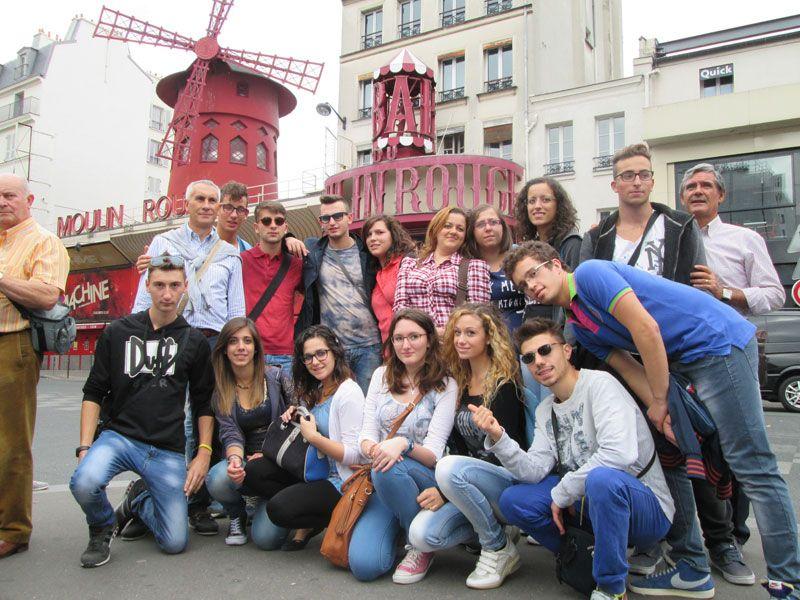 Amigos y estudiantes internacionales