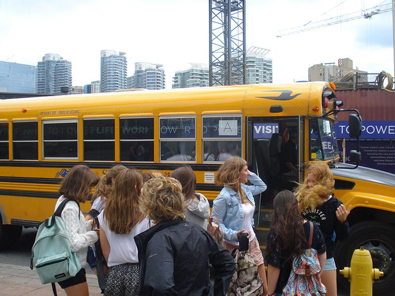 Curso de verano en Toronto, Canadá