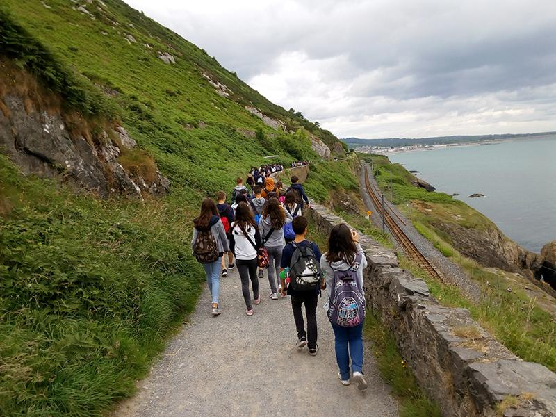 Visita cultural en curso de verano para jóvenes en Arklow, Irlanda