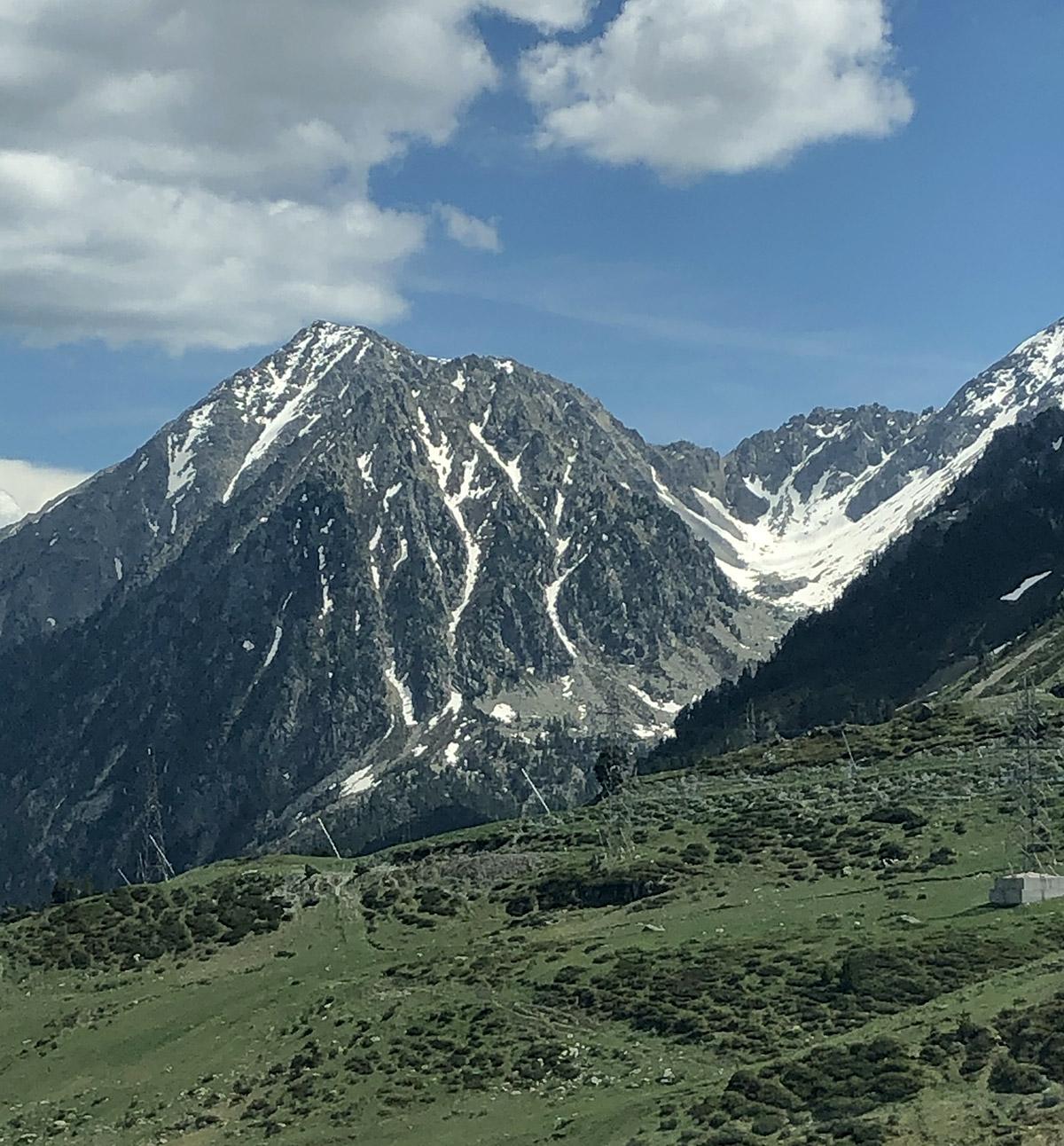 Campamento de verano en los Pirineos