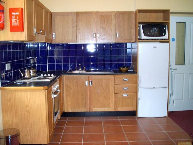 La cocina del alojamiento en Cork