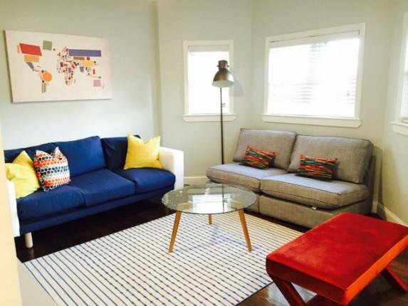 Zona común en Apartamento Saratoga