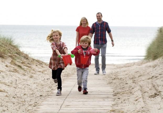 Familias en Irlanda