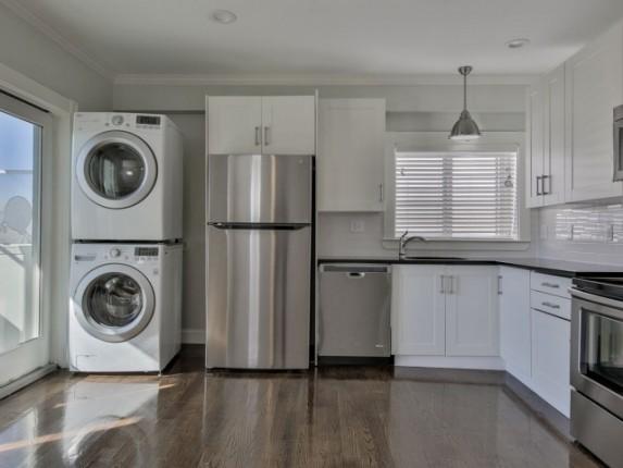 cocina y lavandería