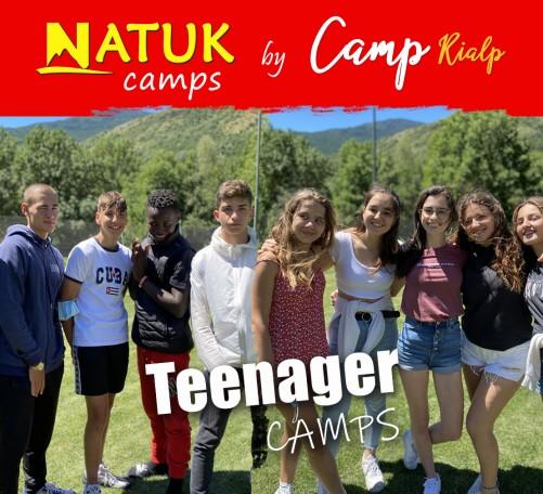 Campamentos de verano para adolescentes