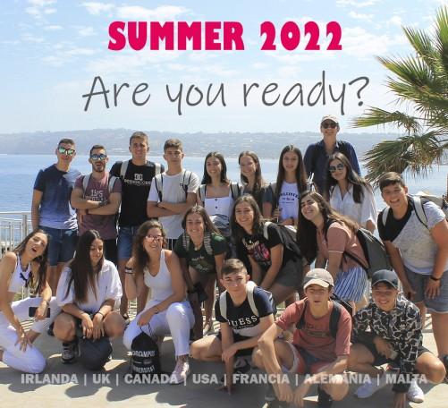 Cursos de verano en el extranjero para jóvenes abiertos