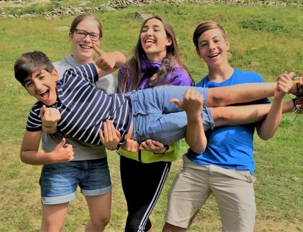 Campamentos de verano en el extranjero para niños y jóvenes