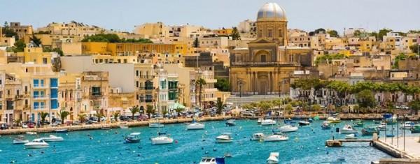 Amigos internacionales en Malta