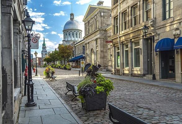 Paseando por la ciudad de Montreal