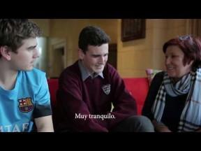 Coordinadores y estudiantes año académico Irlanda